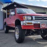 米USトヨタ ピックアップ 4WD リフトアップ 入庫です!