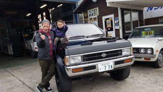 長野県 O様 D21 テラノ納車です!