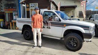 長野県 S様 ダットサンD21 4WD 納車です!