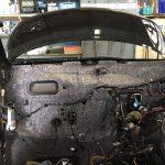 長野市 H23年 スズキ パレット MK21S エアコンガス漏れ エバポレーター 保障修理